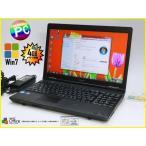 中古ノートパソコン Windows7 TOSHIBA B451/E 15.6型/4G/500GB/マルチ 10キー内蔵 KingSoft Office 2013