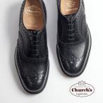 Church's チャーチ BURWOOD バーウッド ウイングチップ シューズ 革靴 黒 メンズ