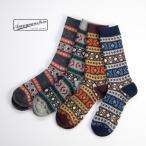 アノニマスイズム Anonymousism ノルディック クルーソックス 日本製 靴下 メンズ
