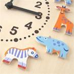壁掛時計(ヘラー社) 動物たち/子供の一日