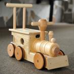 汽車ぽっぽ(木製タイヤ)  木のおもちゃ 乗り物