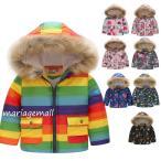 子供服 中綿コート ジャケット 女の子 男の子 コート 子ども 防寒グッズ 花柄 コート ジャケット 暖かい こども キッズ アウター コート 110 120 130 140 150