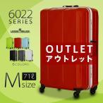 スーツケース M サイズ 中型 軽量 キャリーバッグ キャリーケース キャリーバック 旅行かばん フレーム ディライト アウトレット B-6022-64