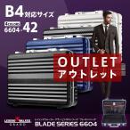 アタッシュケース ブリーフケース ビジネスバッグ B4 サイズ LEGEND WALKER GRAND アウトレット B-6604-42