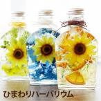 ハーバリウム プレゼント 夏ギフト 『ひまわりハーバリウム』 お祝い ギフト 贈り物 向日葵 花