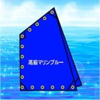 四角帆Bタイプ <規格外>301105 <高級マリンブルー>