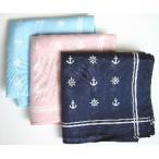 手帕, 手巾 - NEWマリンハンカチ(イカリラット)