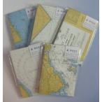 海図封筒セット(洋型2号・英語版) 文具 マップ