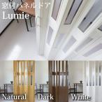 パネルドア  Lumieルミエ (部屋の間仕切りに最適)幅100cm×高さ176cm 木目柄