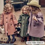 コート 刺繍入り キッズ kids 女の子 おしゃれ 花の襟付き クラシック ナチュラル 韓国子供服