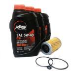 SEADOO/シードゥ オイル交換セット 4ストローク用 オイル(946ml×3) +社外品オイルフィルター *社外品Oリング付き