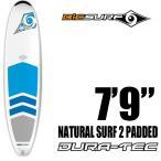 """BICサーフボード ファンボード 7'9"""" PADDED NATURAL SURF2 ポリエチレンボード DURA-TECシリーズ"""