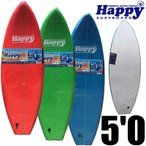 "HAPPY SOFT SURFBOARD ハッピーソフトサーフボード5'0""/サーフィン ソフトボード"