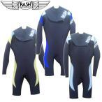 RASH ラッシュウエットスーツ メンズ J7限定 スプリングスーツ 3.5/2mm ノージップタイプ ロングスプリング/男性用