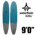 """Water Flash ウォーターフラッシュサーフボード 9'0""""ロングボード ハンドシェープ /サーフィン"""