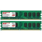 Komputerbay 2GBメモリ2枚組 DUAL デスクトップパソコン用 増設メモリ2枚組 DDR2 PC2-6300 PC2-6400