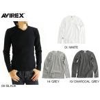 アヴィレックス AVIREX メンズ デイリー Vネック ロングスリーブ ティーシャツ TRECO V-NECK L/S TEE 長袖 アパレル