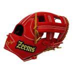ジームス Zeems 三方親限定 軟式用グラブ 内野手(文字ラベル) 野球 軟式 グローブ 内野手用