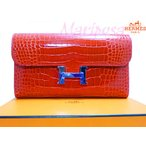 HERMES��CONSTANCE LONG ALLIGATOR MISSISSIPPIENSI���󥹥��󥹥�󥰥�����åȥ��������륢�ꥲ������