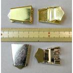ループタイ・ボータイ金具 ストッパー式 1個 *色を選択してください(金、銀)