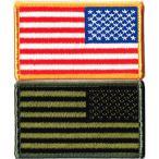 ミリタリーパッチ 星条旗アメリカ国旗 MS右肩用