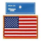 星条旗 ワッペン アメリカ国旗 L-OR