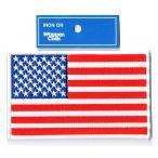 星条旗 ワッペン アメリカ国旗 LL