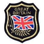 イギリス国旗 ワッペン エンブレムシールド