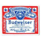 ワッペンエンブレム Budweiserオールド