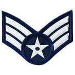 アメリカ空軍 ミリタリー ワッペン USAF 伍長
