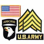 ショッピングワッペン アメリカ陸軍 ワッペン ミリタリーパッチ 米陸軍 第101空挺師団 セット