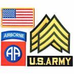 アメリカ陸軍 ワッペン ミリタリーパッチ 米陸軍 第82空挺師団 セット