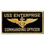 アメリカ軍 ミリタリーワッペン 米海軍USS ENTERPRISE角