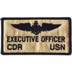 アメリカ軍 ミリタリー ワッペン 米海軍CDR USN BlackLock