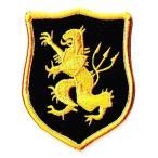 アメリカ軍 ミリタリーワッペン デヴグルゴールドチームBL