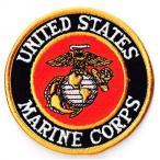 アメリカ軍 ミリタリーワッペン 米海兵隊エンブレムM