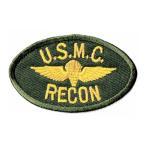 ショッピングワッペン アメリカ海兵隊 ミリタリー USMC RECON ワッペン