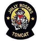 アメリカ海軍 ミリタリーパッチ TOMCAT VF-84ジョリーロジャース ワッペン