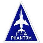 アメリカ空軍 ミリタリーワッペン USAF F-4ファントム三角