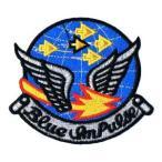 ショッピングワッペン 航空自衛隊 ワッペンエンブレム 初代ハチロクブルーインパルス