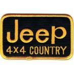 ロゴ エンブレムワッペン Jeep