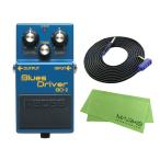 BOSS Blues Driver BD-2 + 3m ギターケーブル VOX VGS-30 セット コンパクトエフェクター