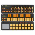KORG nano2 シリーズ nanoKONTROL2 nanoKEY2 nanoPAD2 3機種セット ORGR オレンジ&グリーン USB/MIDIコントローラー