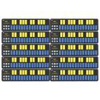 【まとめ買い】KORG nanoKEY2 BLYL ブルー&イエロー 10個セット USB/MIDIキーボード