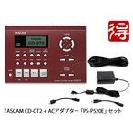 TASCAM CD-GT2 + 純正ACアダプター PS-P520E