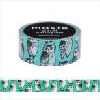 マスキングテープ・マルチ/「マステ」/アニマル/marble SUD・フクロウ/マークス・オリジナル