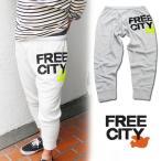 フリーシティー FREE CITY SWEAT PANTS 7分丈スウェットパンツ メンズ ナチュラルホワイト Sサイズ