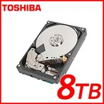 東芝 TOSHIBA 8TB HDD ハードディスク 3.5インチ内蔵 SATA MD05ACA800 7200rpm S-ATA600 キャッシュ:128MB バルクハードディスク 1年保証