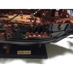 手作り木製模型 船舶 ブラックパール SHI-019