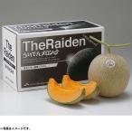お中元 ギフト 果物 北海道産JAきょうわ らいでんメロン(赤肉)秀品2Lサイズ2玉 (220_18夏)